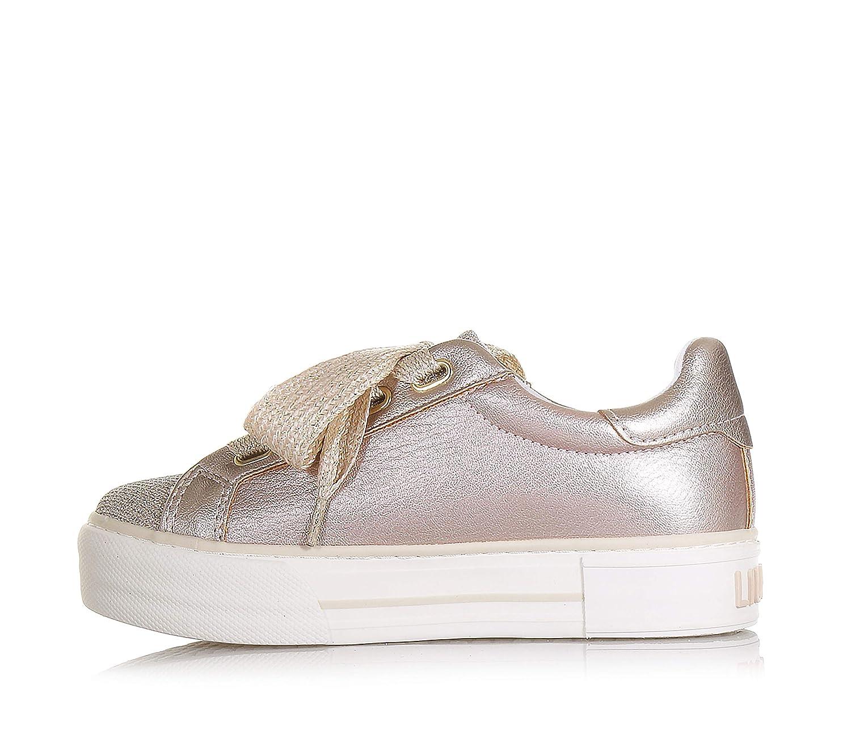 a9647d1de8 20257 rosa Liu Girl L3a4 0193 Oro Donna jo Sneakers TlJ31uFKc5