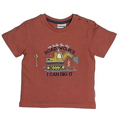 SALT AND PEPPER Baby-Jungen B Longsleeve Just Cool Stripe Langarmshirt
