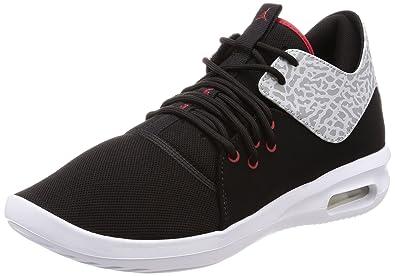 787622cae4e88 Nike Jordan Men s Air Jordan First Class Black Gym Red White Casual Shoe 10  Men