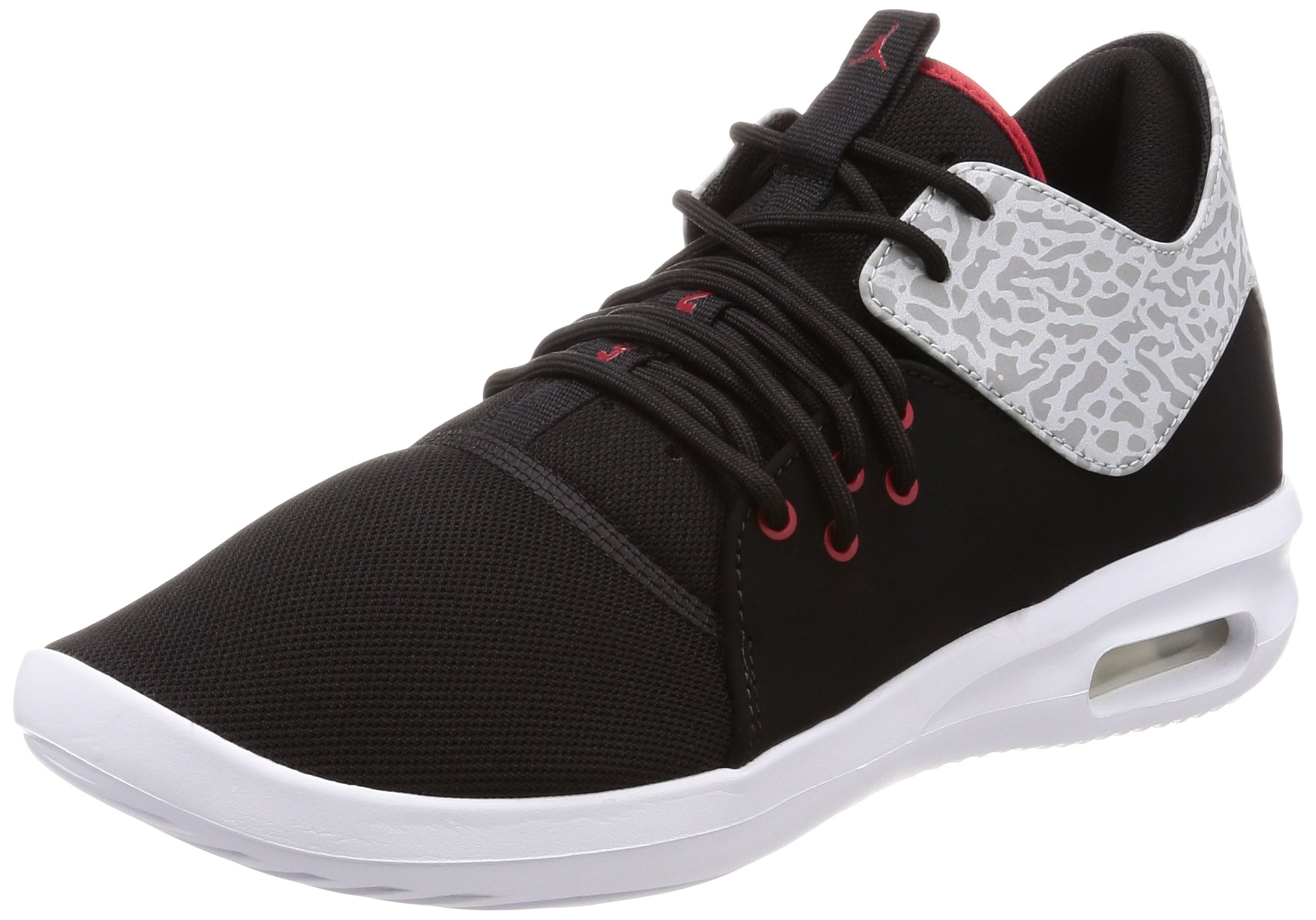 new styles 25aee 542d0 Galleon - Jordan Nike Men s Air First Class Black Gym Red White Casual Shoe  10.5 Men US