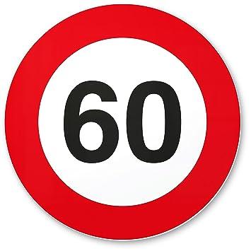 60 geburtstag DankeDir! 60. Geburtstag Geschenk, Kunststoff Schild (20 x 20 cm  60 geburtstag