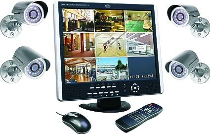 Elro DVR151S - Sistema dvr con cámara de Seguridad + 4 ...