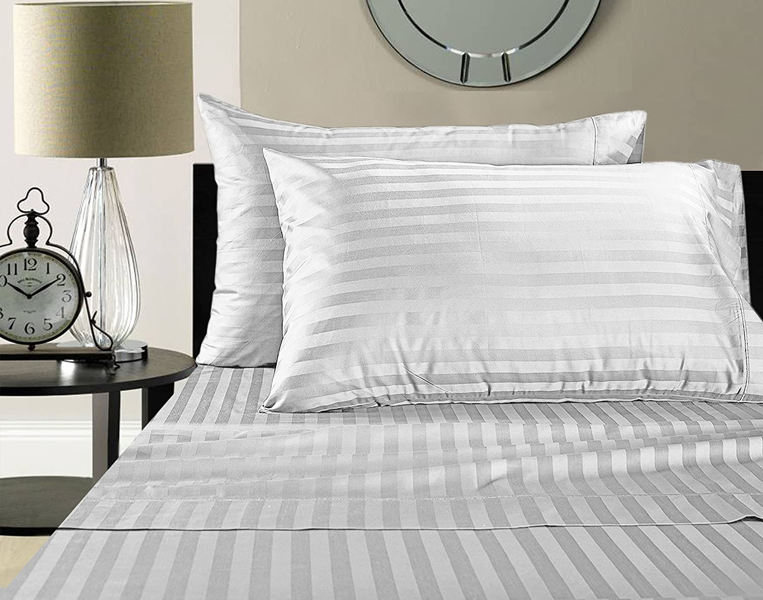 ADDY HOME FASHIONS Supima Cotton Sheets on Amazon