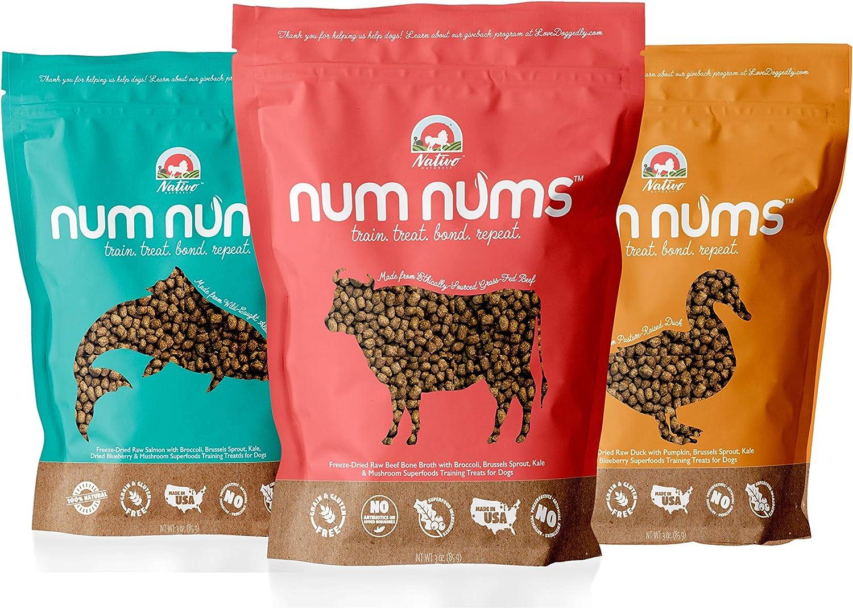 NATIVO NATURALS: Num Nums Dog Training Treats