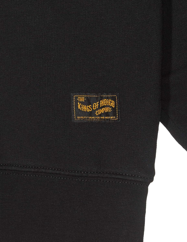 Kings of Indigo Herren Parnell Sweatshirt Schwarz (Black 6900)