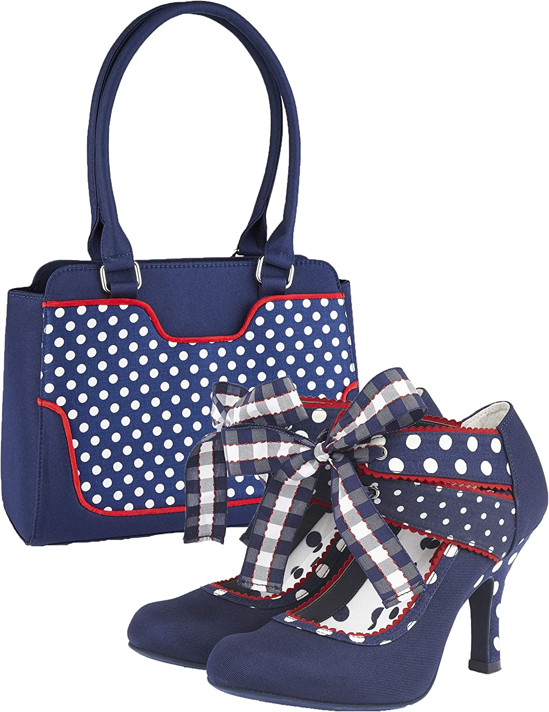 Ruby Shoo Aisha Mary Jane Booties /& Matching Tunis Bag
