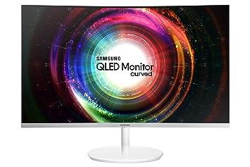 Samsung Curved Monitor C32H711 Monitor Weiß: Amazon.de: Computer ...