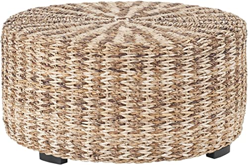 East at Main Tyler Tan Natural Fiber Decorative Coffee Table