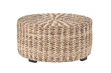 Phenomenal East At Main Tyler Tan Natural Fiber Decorative Coffee Table 35 5X35 5X18 5 Squirreltailoven Fun Painted Chair Ideas Images Squirreltailovenorg