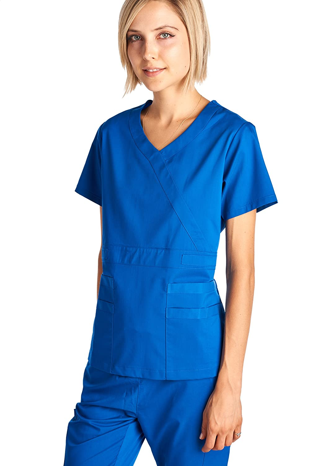 Dagacci Medical Uniform Womens Stretch Image 3
