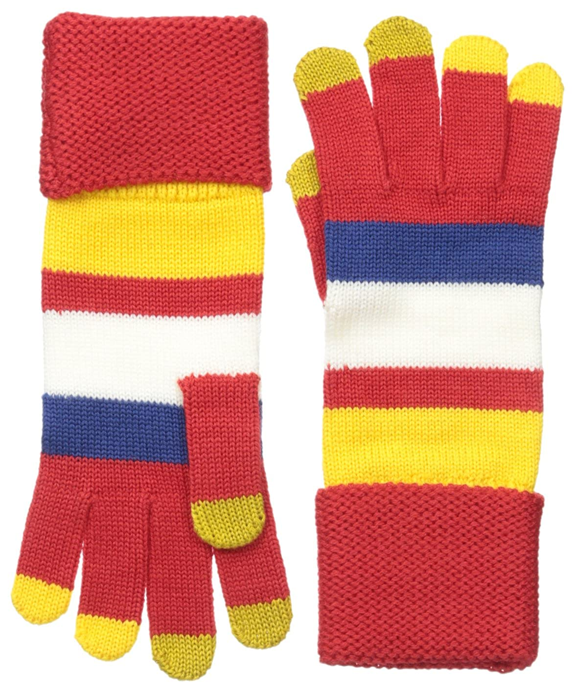 Marc by Marc Jacobs Women's Rory Who Gloves Cambridge Red/Multi One Size M0004066