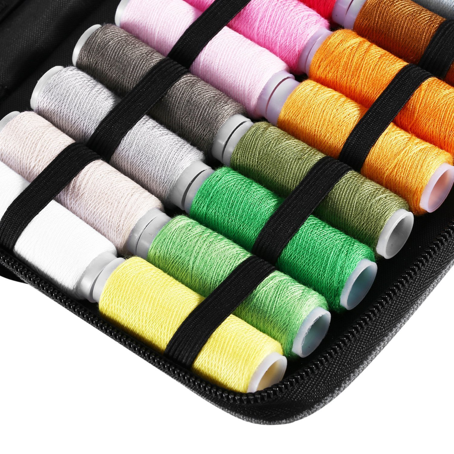 Amazon.com: Innocheer Sewing Kit With 97 Sewing Accessories, 24 ...