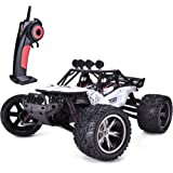 TOZO C2035 RC CARS High Speed 30MPH 1/12 Scale RTR Remote control Brushed Monster Truck Off road Car Big Foot RC 2WD ELECTRIC POWER BUGGY W/2.4G Challenger White
