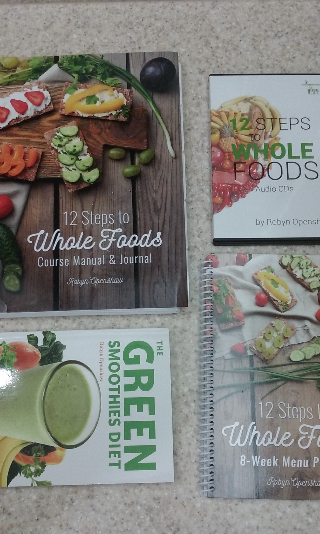 12 Steps to Whole Foods Complete Course (The complete 12 Steps to Whole  Foods with Audio & Videos): Robyn Openshaw: Amazon.com: Books