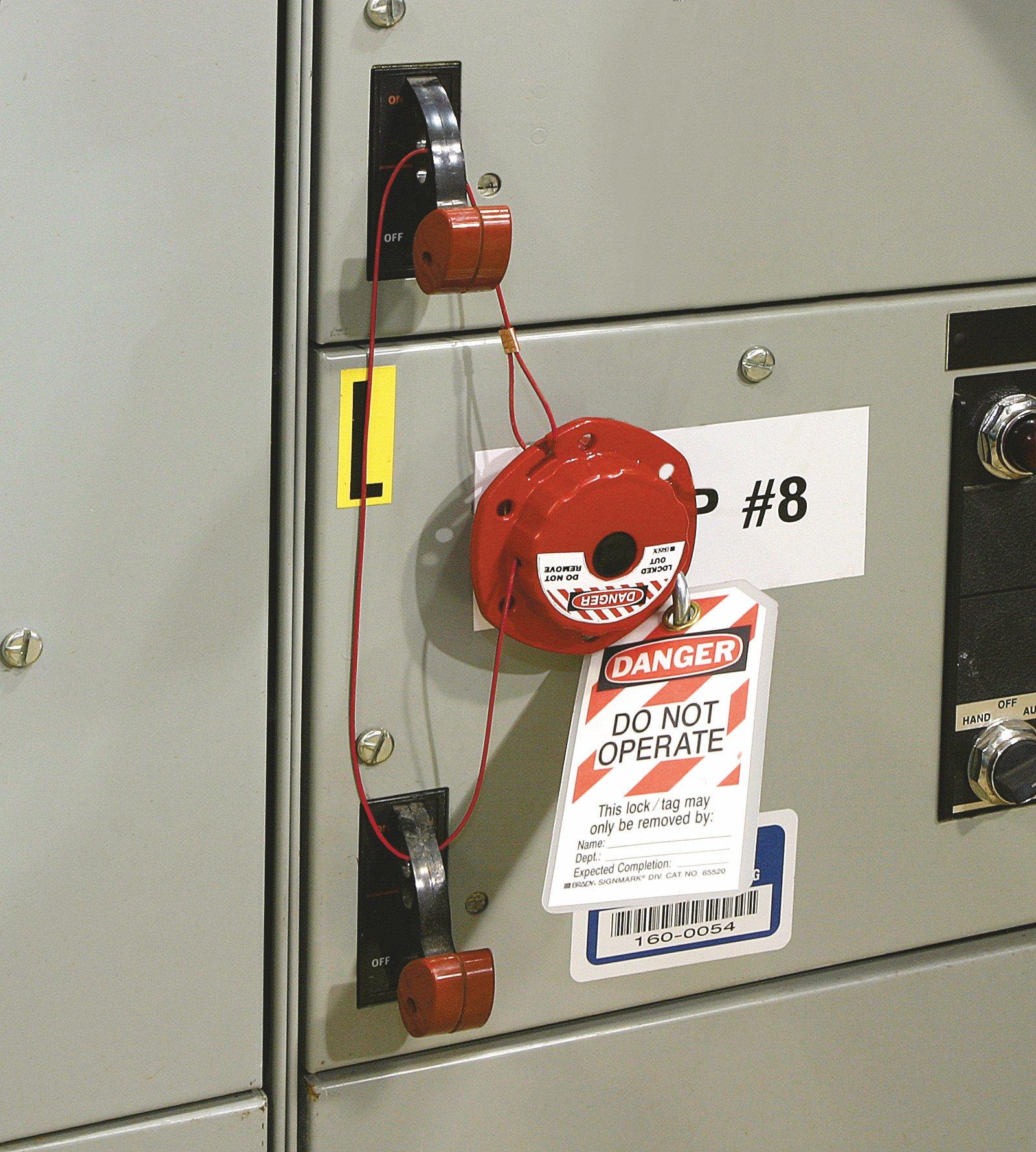 Brady Personal Electrical Lockout Toolbox Kit, Includes 2 Safety Padlocks by Brady (Image #5)
