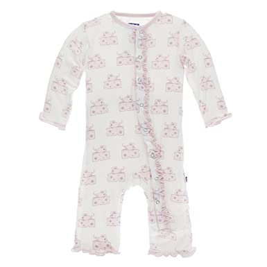 f49a70344ba0 Image Unavailable. Image not available for. Color  KicKee Pants Little  Girls Print Muffin Ruffle ...