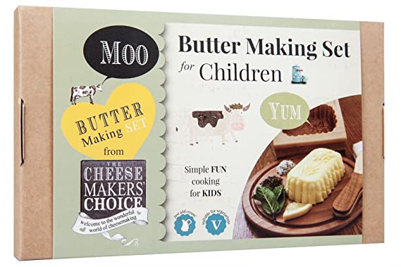 Cheese Makers Choice Childrens Butter Making Kit Amazon