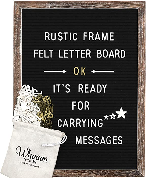 Top 10 Home Brand Letter Board 12X12
