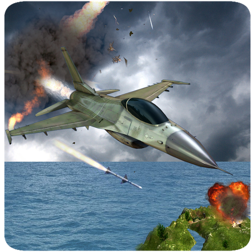 F16 Air Jet Fighter Adventure Simulator 3D: Dog Fight Air Pilot Strike Combat Flight Survival Hero Avion Force Games Free For Kids 2018