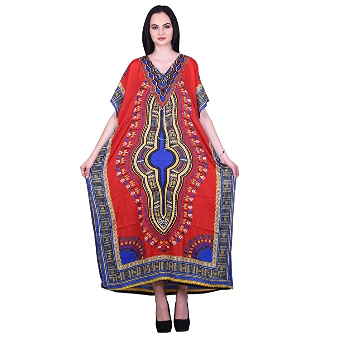 Odishabazaar Long Kaftan Kimono Maxi Dress Plus Size Caftan ...