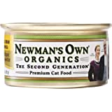 Newman's Own Organic Cat Food, Canned Chicken & Brown Rice Formula, 3 oz