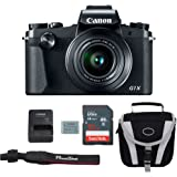 Canon G1X Mark III Digital Camera Bundle + Canon PowerShot G1X Mark III Advanced Accessory Kit - Including EVERYTHING You Need To Get Started