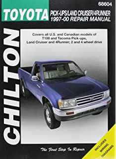 Toyota tacoma 4runner t100 automotive repair manual robert chiltons toyota pick upsland cruiser4runner 1997 00 repair manual fandeluxe Gallery