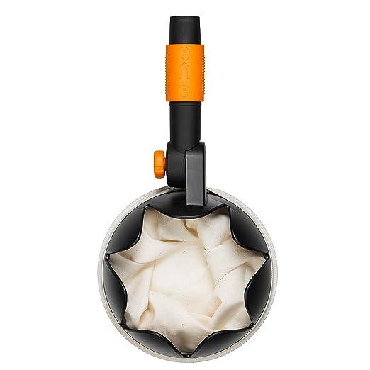 Fiskars Recogedor de frutas, Longitud: 32 cm, Negro/Naranja, 1000693