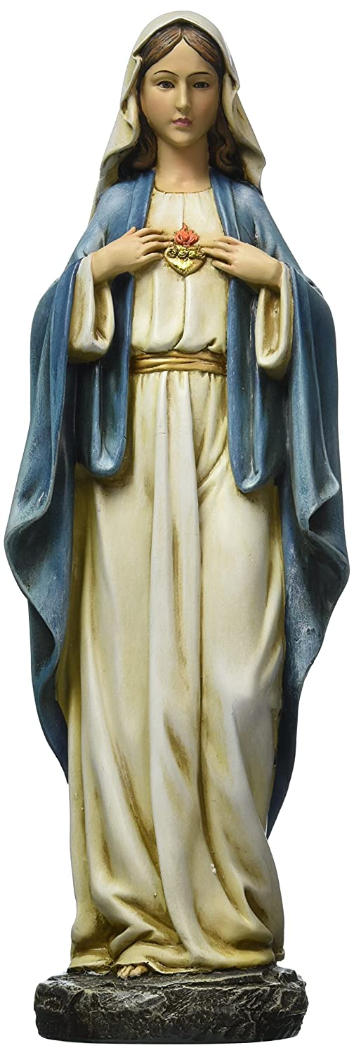 Renaissance Collection Joseph's Studio by Roman Exclusive Immaculate Heart of Mary Figurine, 14-Inch