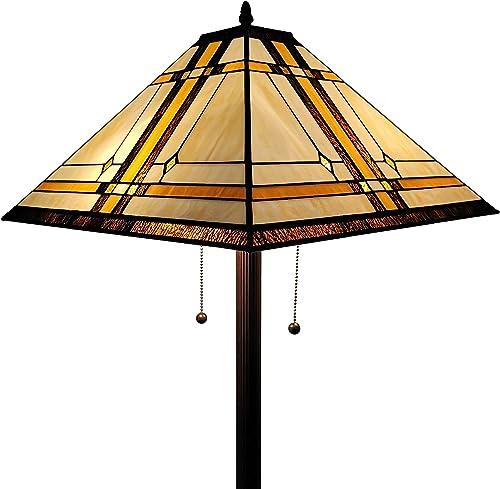 Amora Lighting AM1053FL17 Tiffany Style Floor Lamp