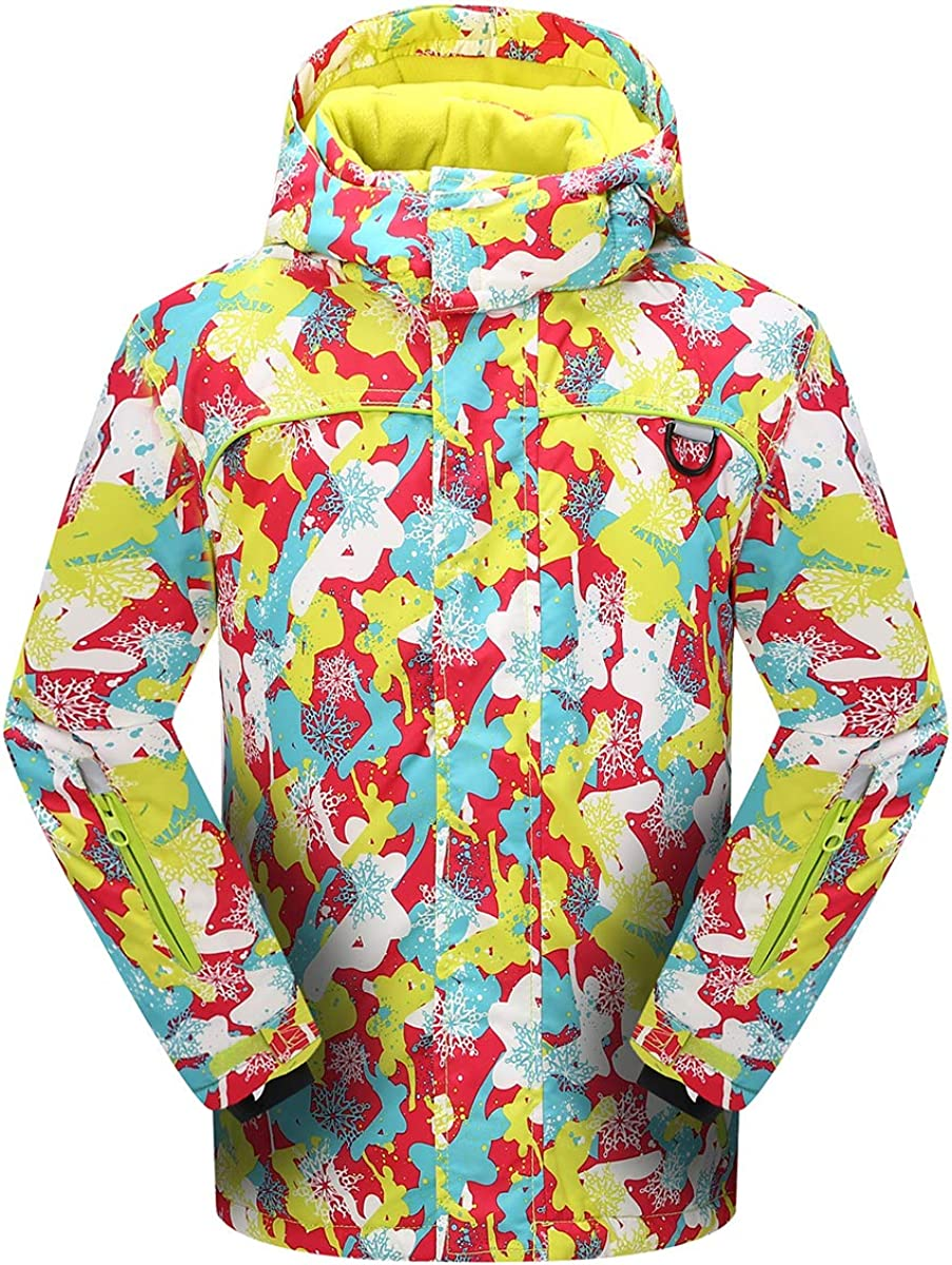 Victrax Safety and trust Girl's Winter Waterproof Ski Wa Jacket Popular shop is the lowest price challenge Kids Fleece Thick