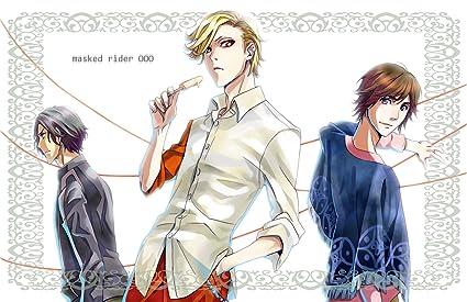 Posterhouzz Anime Kamen Rider Ooo Wall Poster: Amazon in