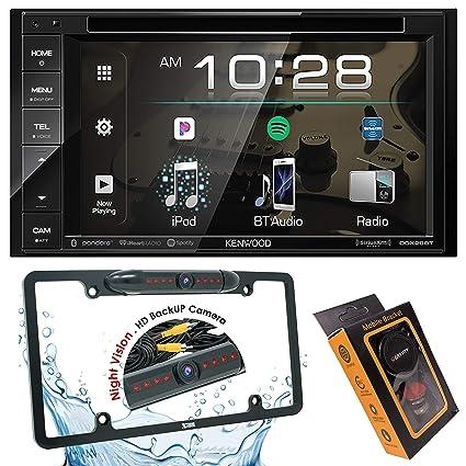 Kenwood DDX26BT Double DIN SiriusXM Ready Bluetooth in-Dash DVD/CD/AM/FM  Car Stereo Receiver w/ 6 2