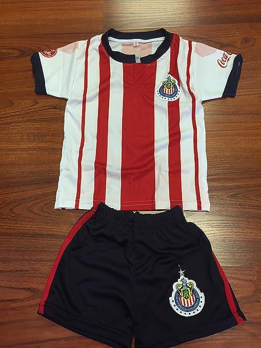 2d58b00ff62f0 New! Club Guadalajara Chivas Youth Replica Jersey and Short Set