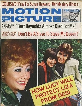 Motion Picture Magazine July 1973 - Lucy & Liza Minnelli