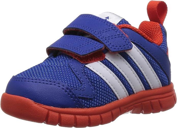 Adidas De niño STA Fluid 3 Azul / Blanco / Naranja Zapatillas Running - Azul / Blanco / Naranja, 7k: Amazon.es: Zapatos y complementos