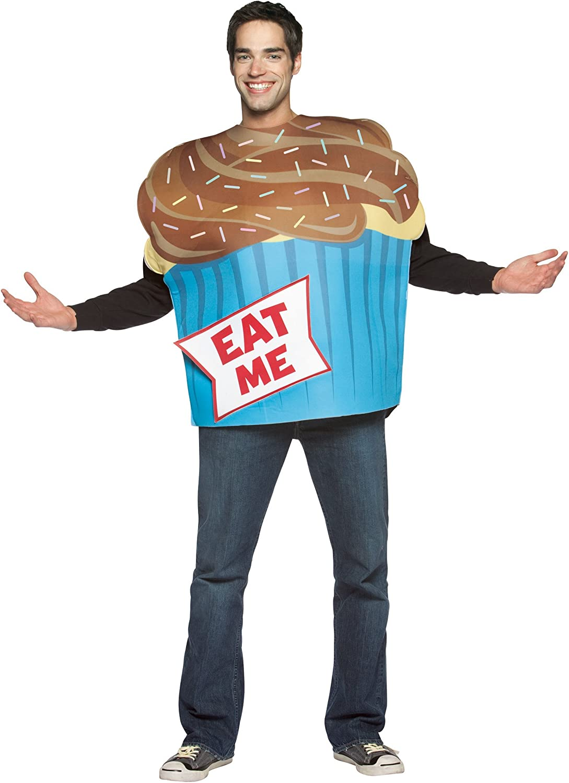 ADULTS Adult Eat Me Cupcake Fancy Dress Humour Costume STD ...