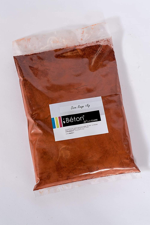 Pigment naturel 250g Ocre Rouge