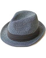 (エッジシティー)EdgeCity 折りたたみ可能 大きいサイズ メンズ 麦わら帽子 ストローハット