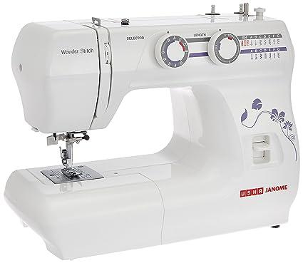 Buy Usha Janome Wonder Stitch Automatic ZigZag Electric Sewing Cool Sewing Machine Online Shopping India