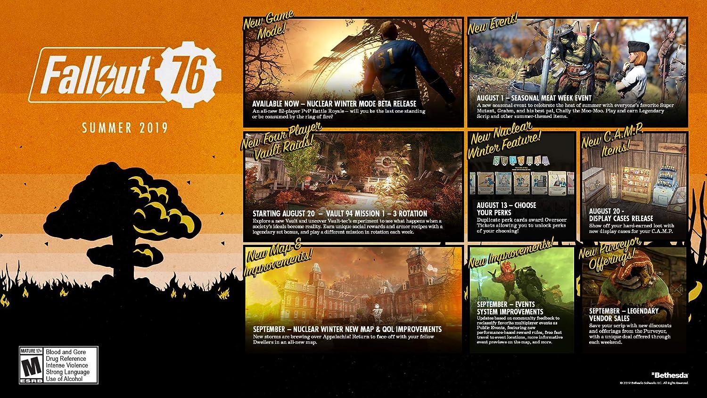 Amazon com: Fallout 76 Tricentennial Edition - Xbox One