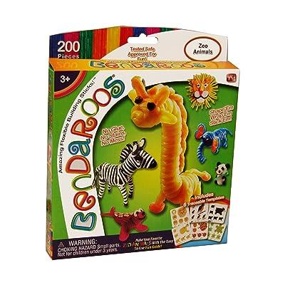 Bendaroos Set - Zoo Animals: Toys & Games