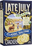 Late July Organic Round Saltine Crackers - 6 oz