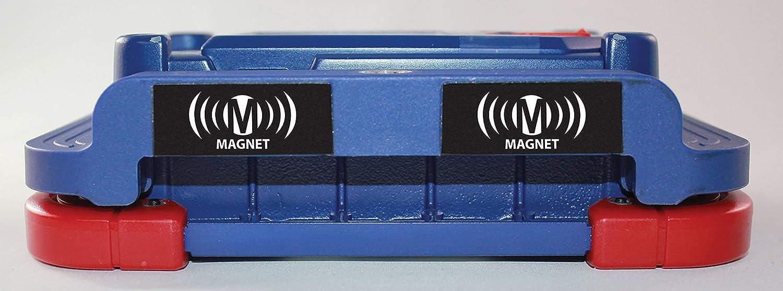 Light-N-Carry LNC2251 Magnetic Base Rechargeable COB LED Work Light with 2 Batteries Clore Automotive 1,500 Lumen