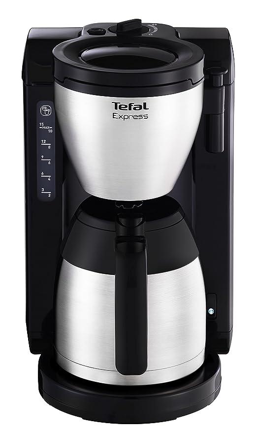 Tefal CI390811 - Cafetera de goteo, 1,25 l, color gris y ...