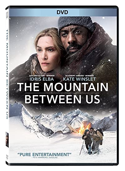 The Mountain Between Us (DVD 2017) Romance LaMarca