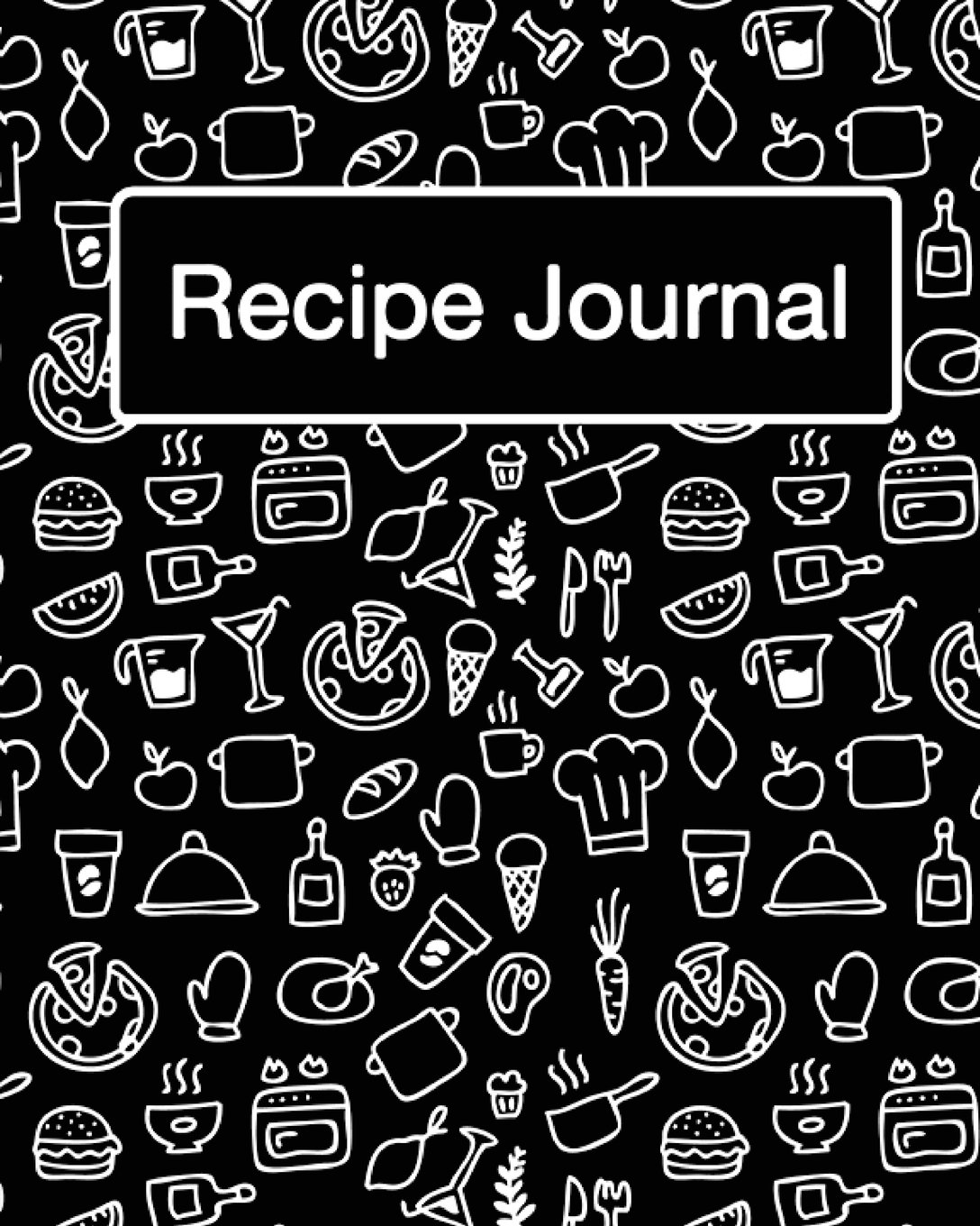 "Download Recipe Journal: (Recipe Journal Vol. A22) Glossy Cover, (Size 8"" x 10"") Blank Cookbook To Write In,Paperback (Blank Cookbooks and Recipe Books), 100 Spacious Record. (Recipe Journal Pro Edition.) pdf"