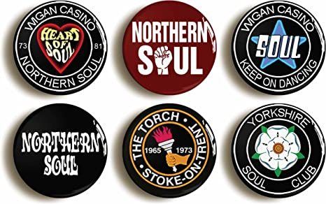 Anniversary Edition Northern Soul Set of 4 Patches Casino Classics
