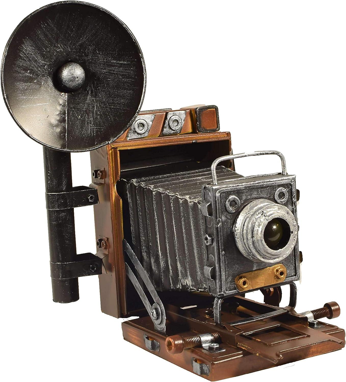 Retro Cámara Con Flash Bombilla Mancuernas bolsa De Regalo fotografía Vintage