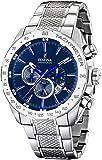 Festina - F16488-B - Montre Homme - Quartz Chronographe - Cadran Bleu - Bracelet Acier Argent